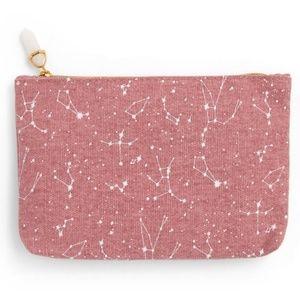 🎁Constellation canvas mini cosmetic bag